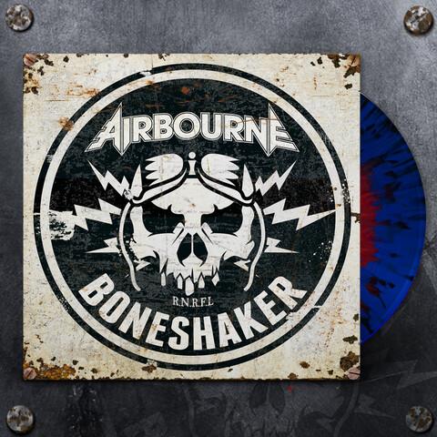 Boneshaker (Ltd. Blue & Red Splatter LP) von Airbourne - LP jetzt im Spinefarm Shop