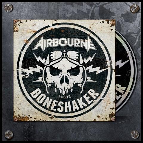 Boneshaker (Ltd. Deluxe Edition) von Airbourne - CD jetzt im Spinefarm Shop