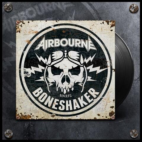 Boneshaker (Black LP) von Airbourne - LP jetzt im Spinefarm Shop